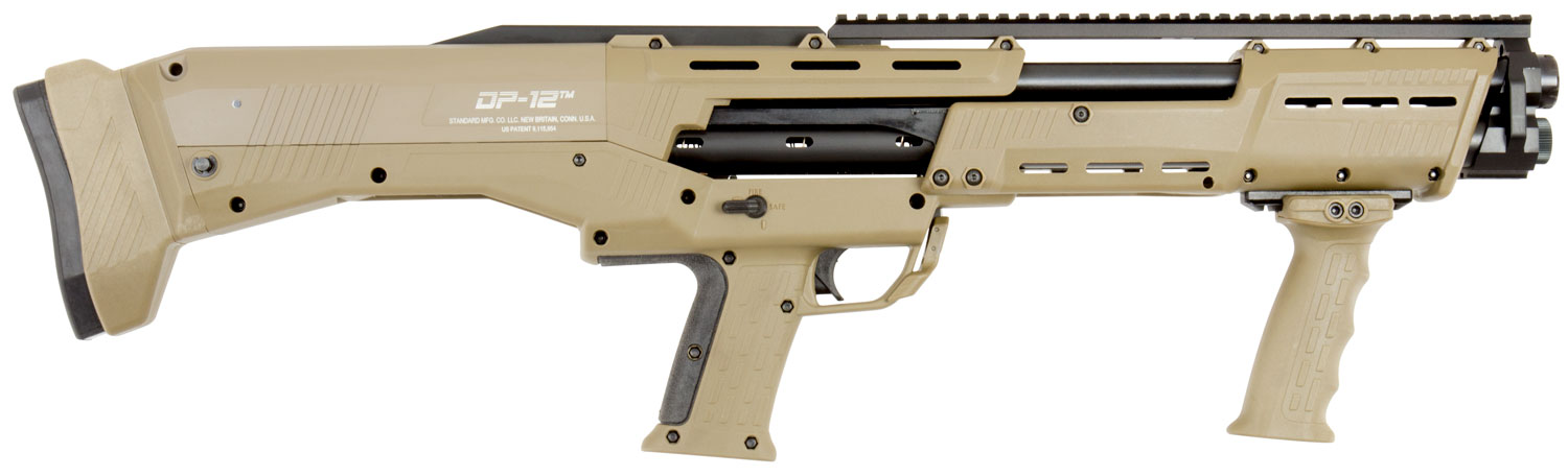 STD DP-12 12GA PUMP RPR DB 18 7/8  FDE
