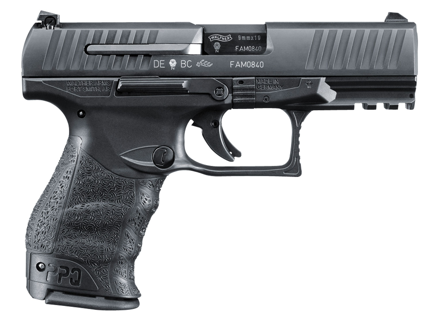 WAL 2807077 PPQ M2 45ACP 4IN BLK 10RD