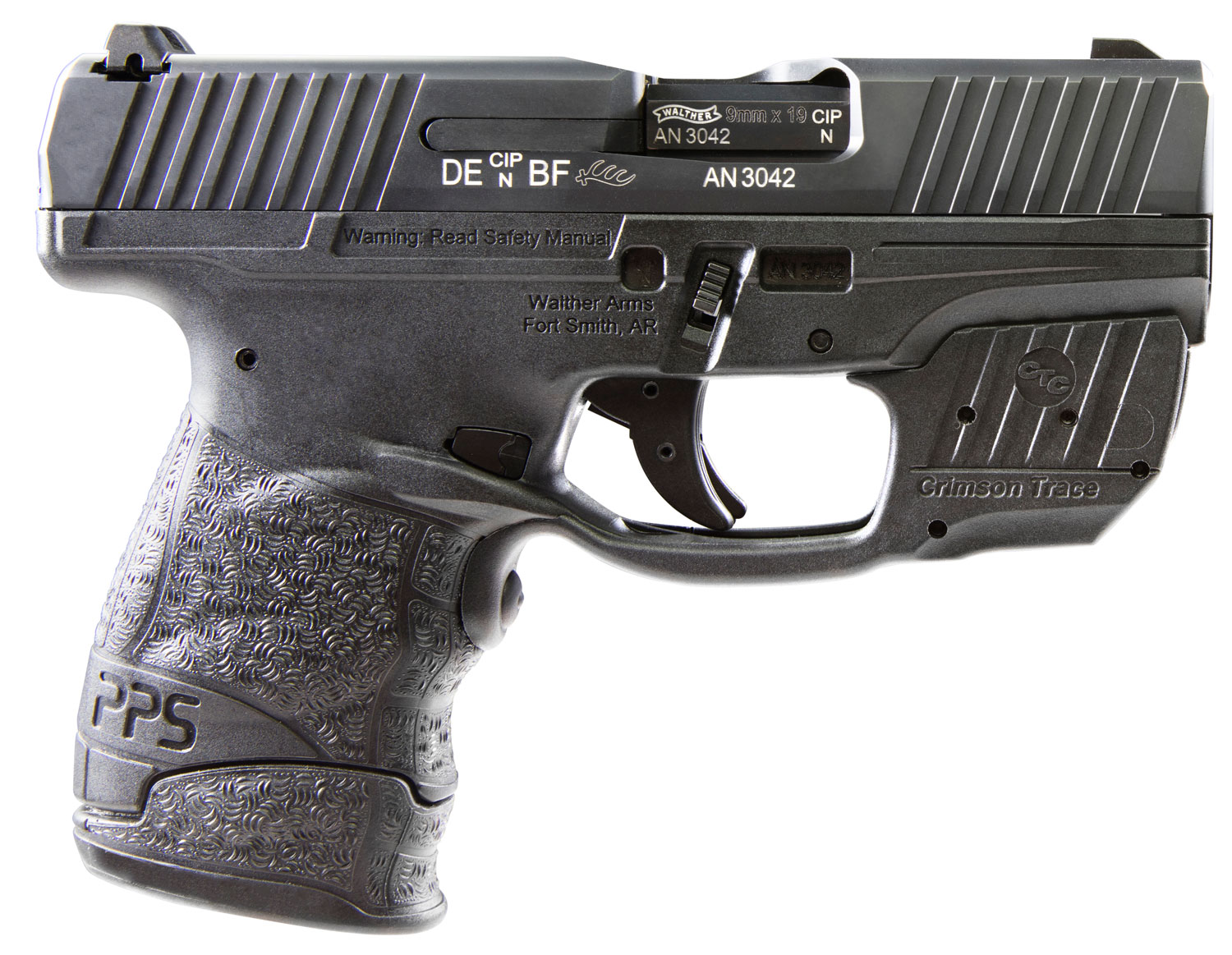 WAL 2805963 PPS M2 9MM 7RD W/CT GRIPS