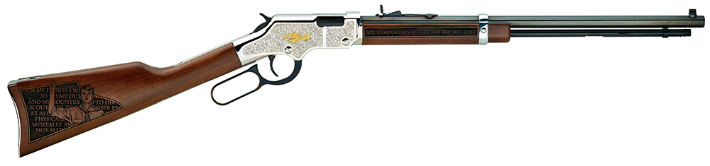 HENRY H004STS  SALUTE TO SCOUTING 22LR