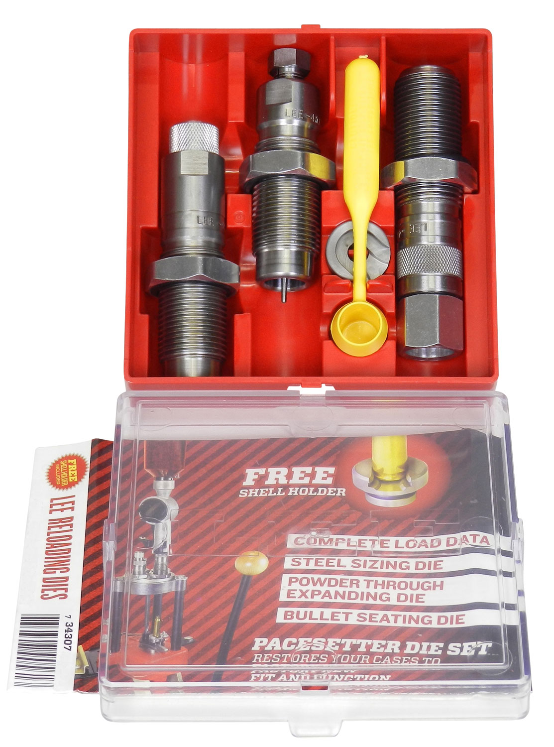 LEE 90176 3 DIE SET 9MM MAK CARBIDE