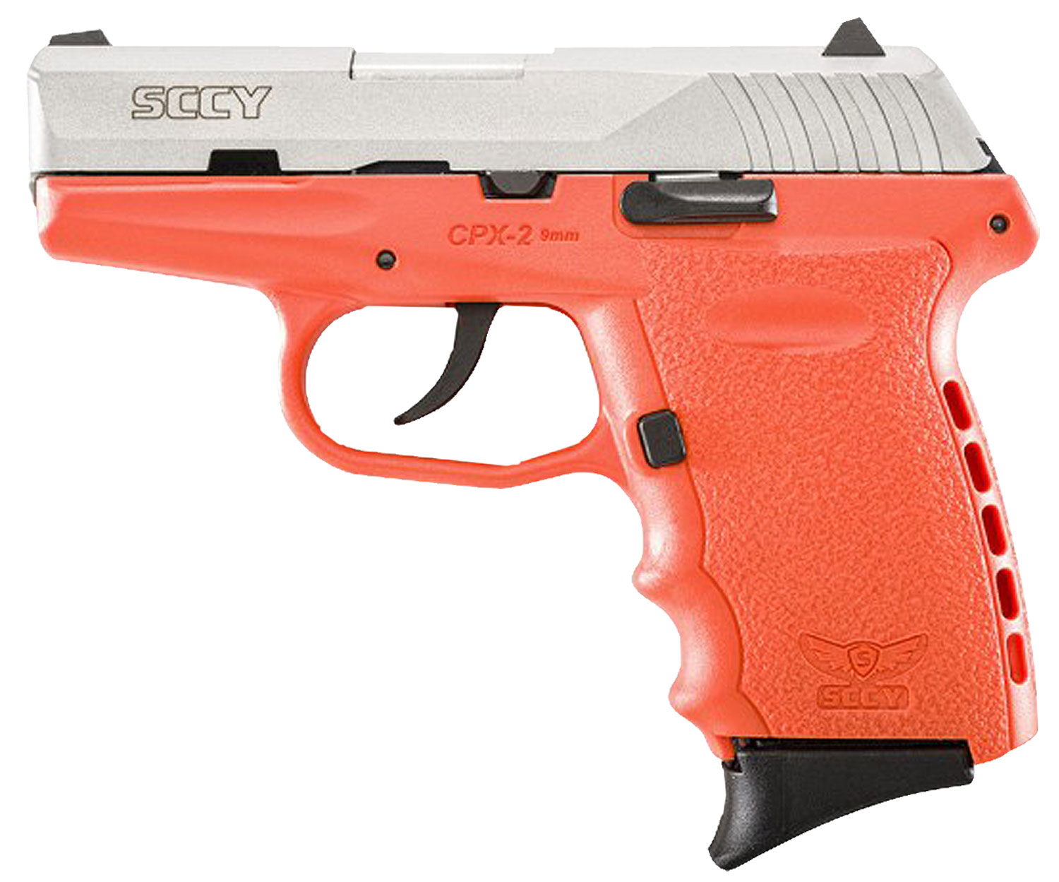 SCCY CPX2TTOR 9MM 3.1 SS  NMS 10 ORGN