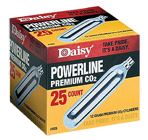 DAISY 997025-611 CO2 CYLINDERS    25PK