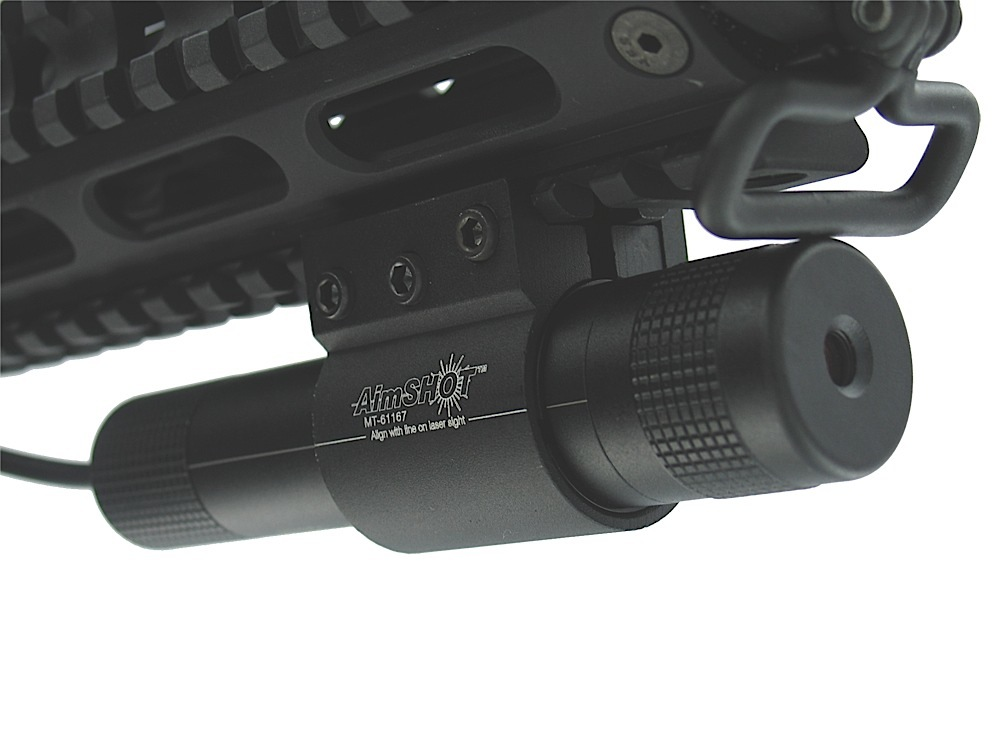 AIMS KT81067 GREEN LASER W/RAIL MNT