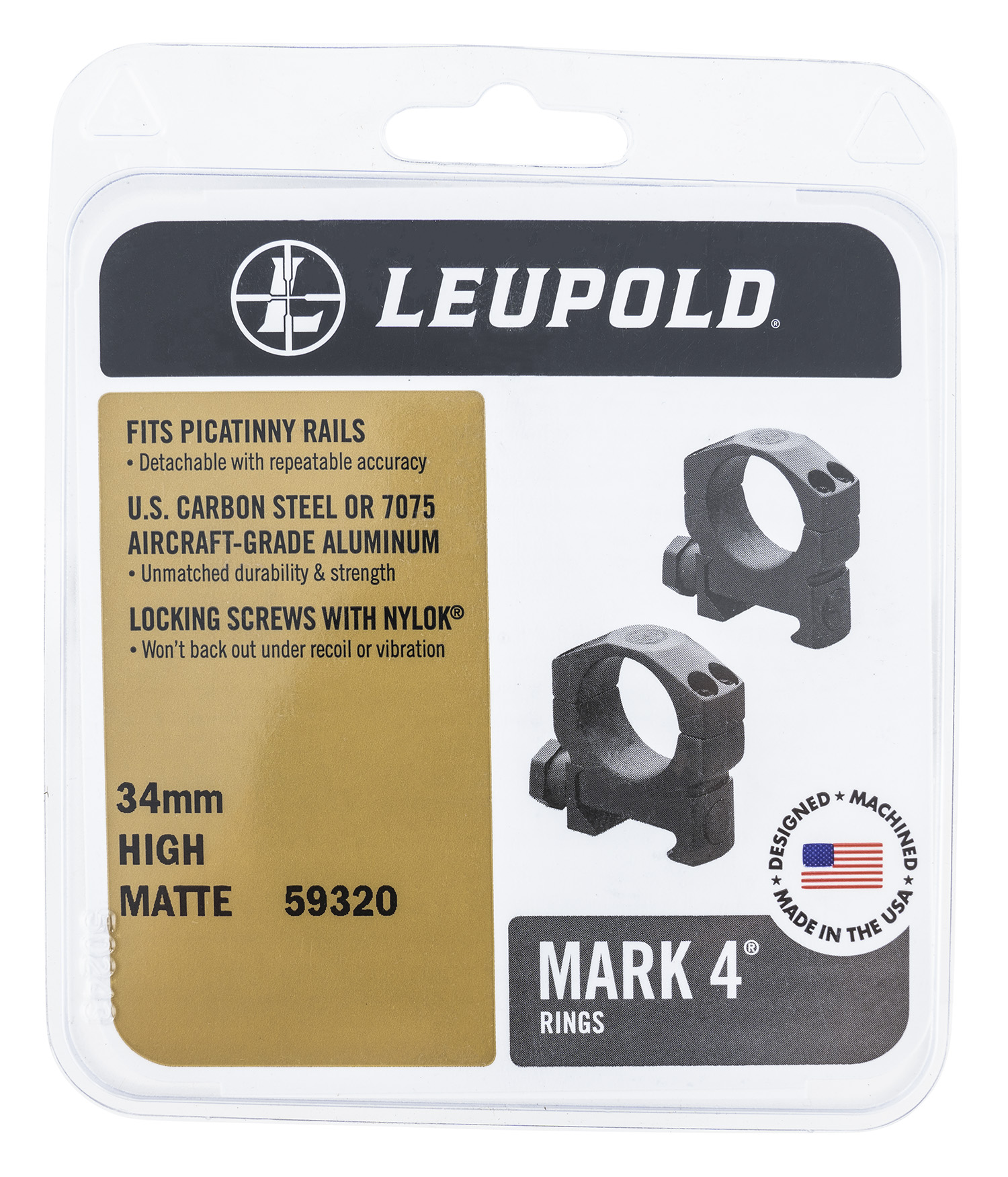 LEU 59320  MARK 4 34MM HIGH         MT