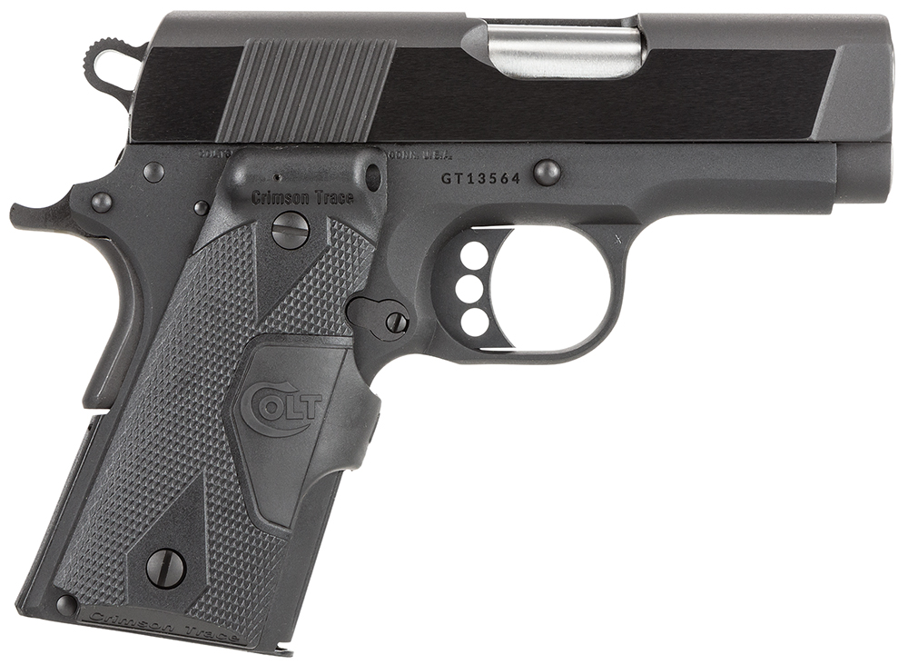 COLT O7810DCT  NEW AGENT 45  3IN CT BL